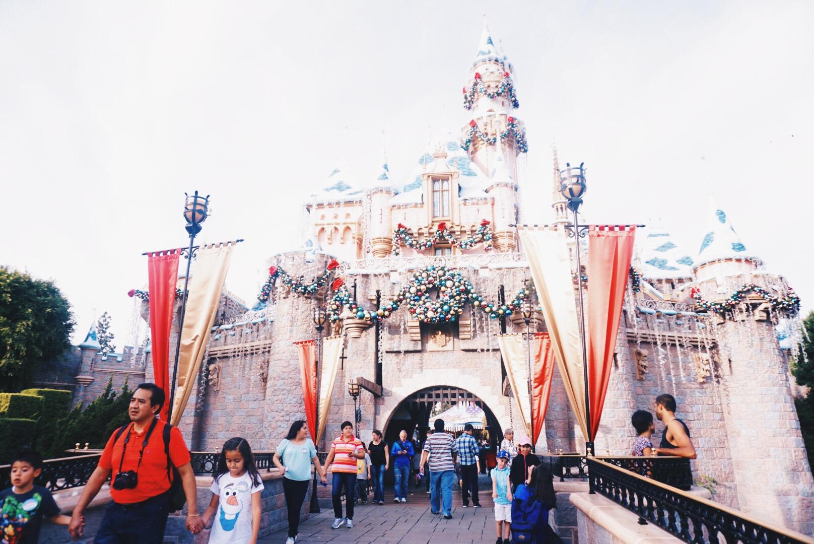 What\'s In My Bag? Christmas Eve Disneyland Edition - ElleKae