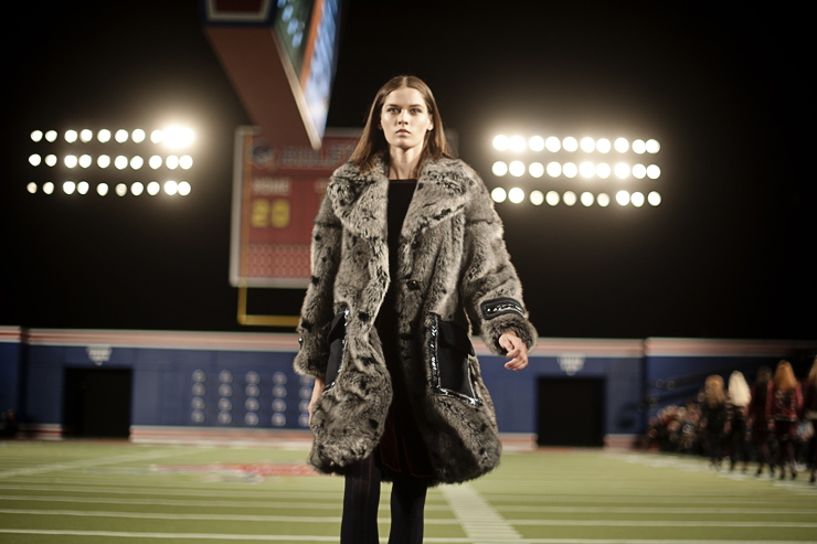 tommy hilfiger FW15 football fashion show ellekae