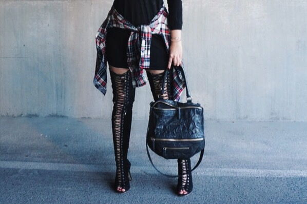Laced Up ootd ellekae
