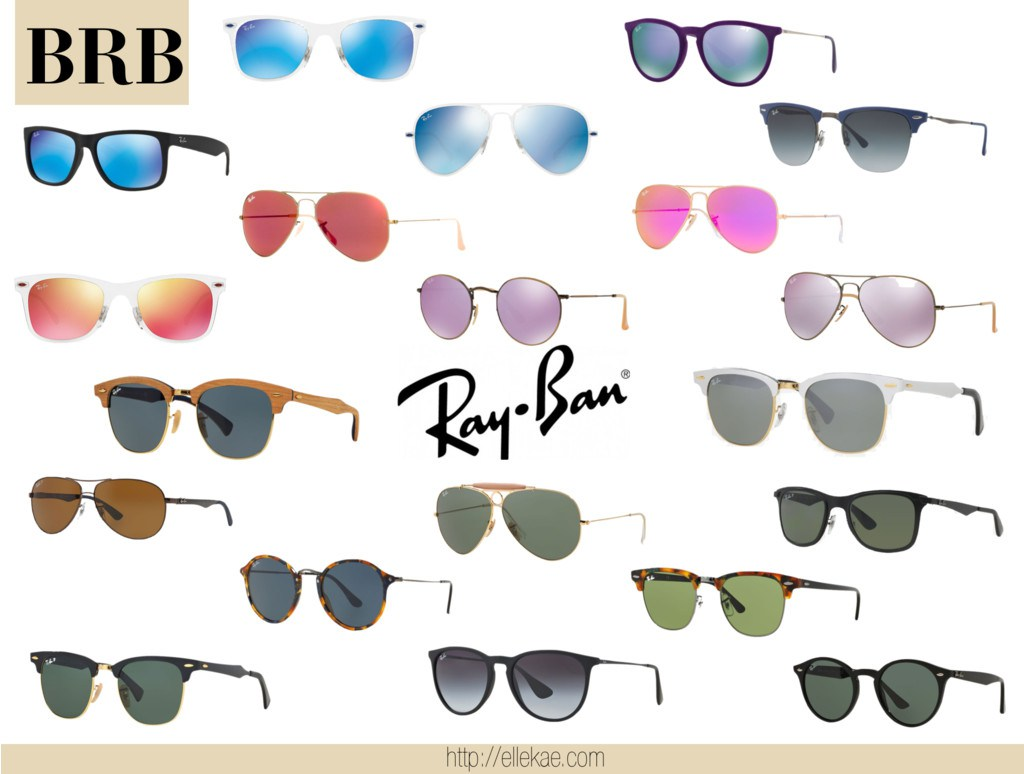 Ray-Bans Trendy Summer 2015 ellekae