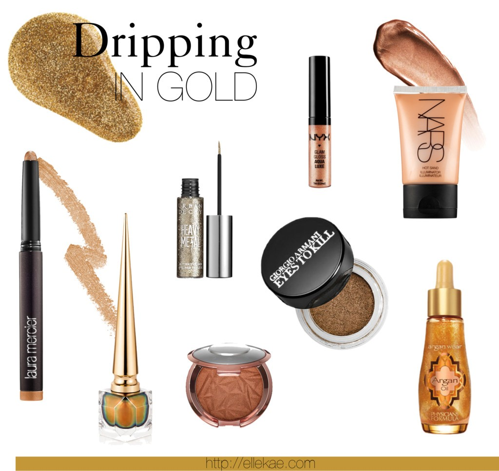 Dripping in Gold | Bronze buys of Summer ellekae