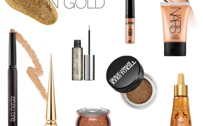 End of Summer Gold Bronze Beauty ellekae
