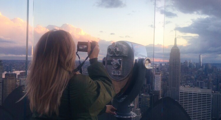 NYC Photo Diary Top of Rock Ellekae