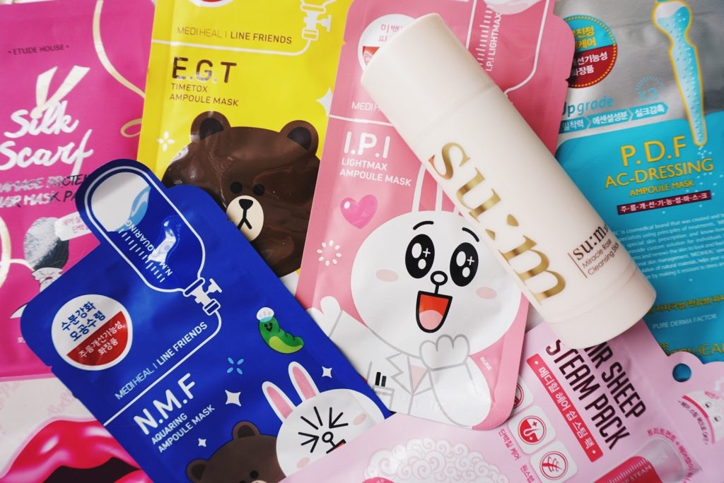 Korean Beauty MemeBox Haul Ellekae