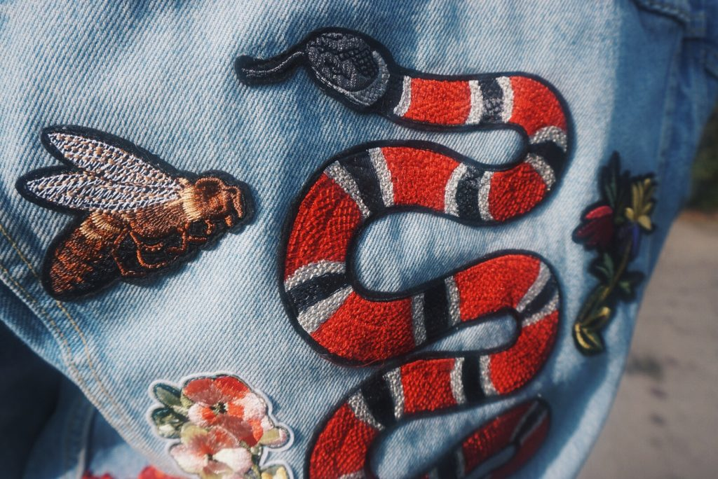 DIY Gucci Denim Jacket