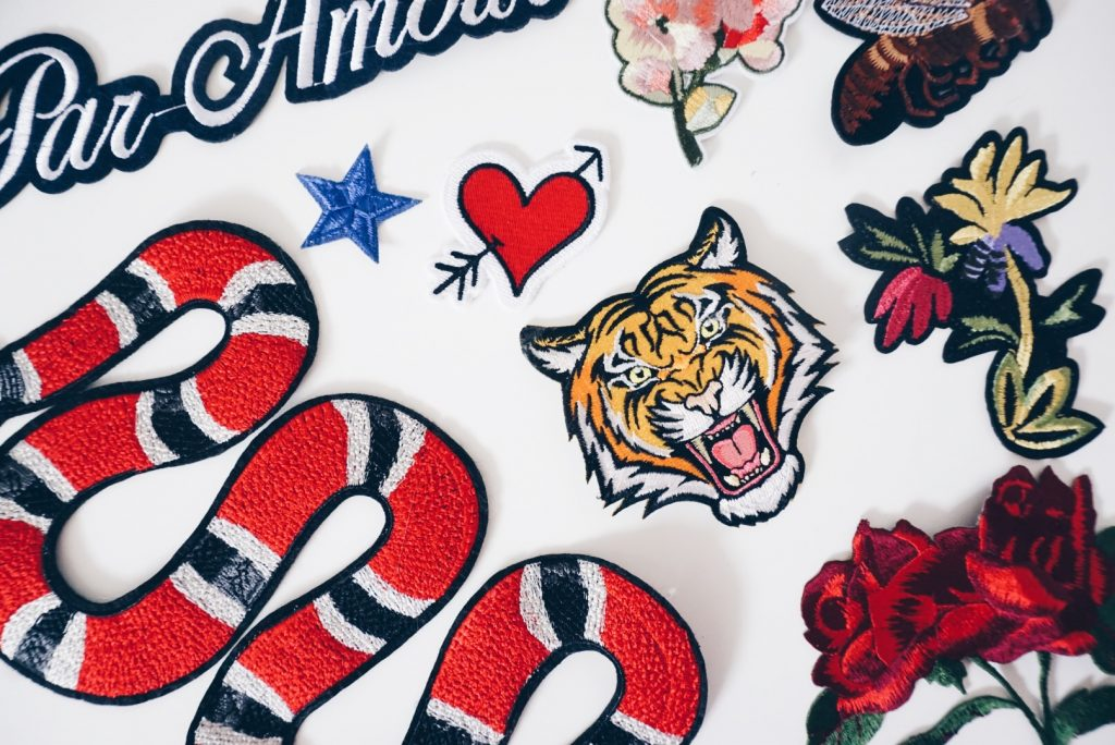 DIY Embroidered Gucci Denim Jacket - ElleKae