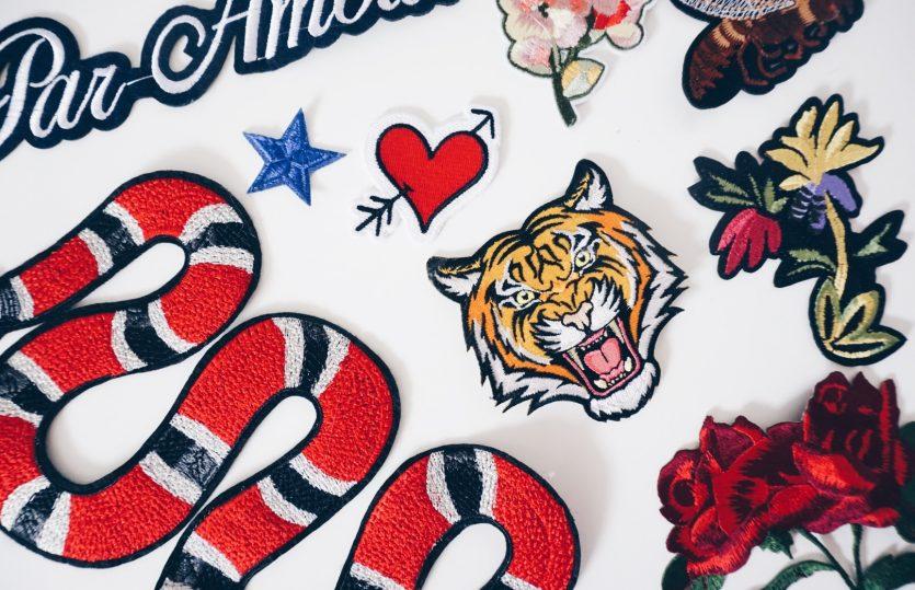 DIY Embroidered Gucci Denim Jacket