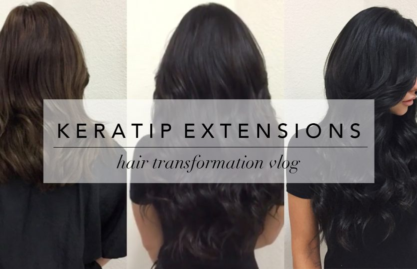 My Hair Transformation with Keratip Extensions (& Everything You Need to Know)