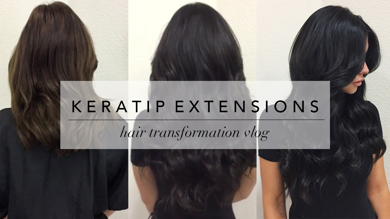 My Hair Transformation with Keratip Extensions (& Everything