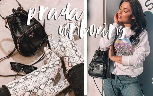 Prada bucket bag unboxing